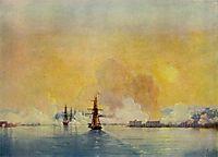 Arrival into Sevastopol Bay, 1852, aivazovsky