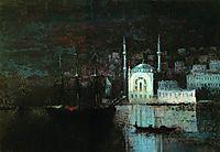 Night Constantinople, 1886, aivazovsky