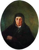 Portrait of the artist-s grandmother Ashkhen, 1858, aivazovsky