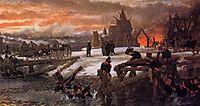 The Crossing of the River Berizina, 1869, almatadema