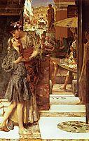 The Parting Kiss, 1882, almatadema