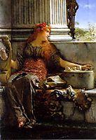 Poetry, 1879, almatadema