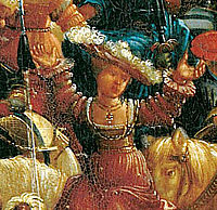 The battle of Issus(fragment), 1529, altdorfer
