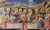 Death of the Virgin, 1434, angelico