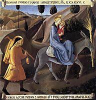 Flight into Egypt, 1452, angelico