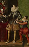 Portrait of Giuliano II Cesarini aged 14, 1586, anguissola