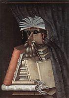 The Librarian, 1566, arcimboldo