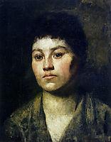 Portrait of a girl, 1888, azbe
