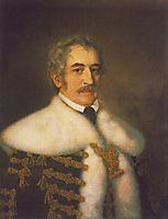 Portrait of József Teleki, 1836, barabas