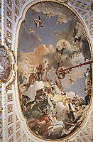 The Apotheosis of the Spanish Monarchy, 1766, battistatiepolo