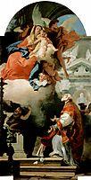 The Virgin Appearing to St Philip Neri, 1740, battistatiepolo