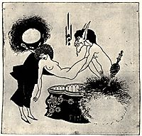 The Burial of Salome, beardsley