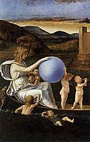 Four Allegories: Fortune (or Melancholy), c.1490, bellini