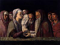 Presentation at the Temple, 1464, bellini
