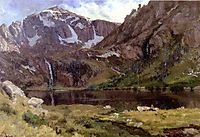 Mountain Lake, bierstadt