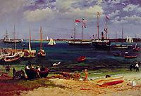 Nassau Harbor, c.1877, bierstadt