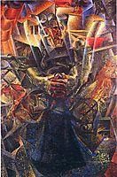 Materia, 1912, boccioni