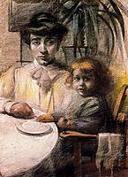 Mother and Child, 1906, boccioni