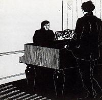 Pianist and Listener, 1908, boccioni