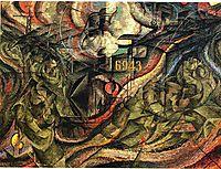 States of Mind I: The Farewells, 1911, boccioni