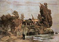Villa by the Sea, c.1865, bocklin