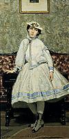 Portrait of Alaide Banti in White Dress, 1866, boldini