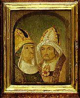 Two Male Heads, bosch