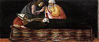 Extraction of the heart of Saint Ignatius, 1488, botticelli