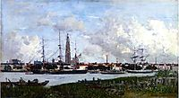 Antwerp, the Port, boudin