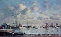 Camaret, Boats in the Harbor, boudin
