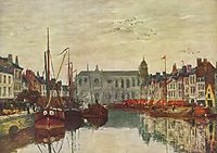 Channel in Brussels, 1871, boudin