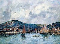 Cherbourg, 1883, boudin