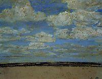 Fine Weather on the Estuary, c.1857, boudin
