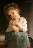 The Chilly Girl, 1879, bouguereau