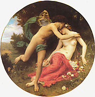 Flora and Zephyr, 1875, bouguereau