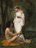 Idyll, 1851, bouguereau