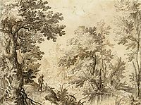 A Forest Pool, 1600, bril