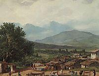 Village of San Rocco near the Town of Corfu, 1835, bryullov