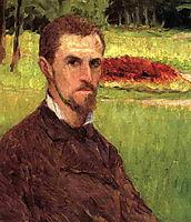 Self-Portrait, c.1878, caillebotte