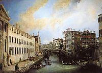 Rio dei Mendicanti, 1724, canaletto