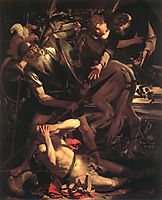 The Conversion of Saint Paul, 1600, caravaggio