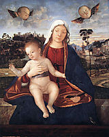 Madonna and Blessing Child, 1510, carpaccio