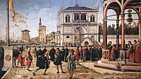 The Repatriation of the English Ambassadors, 1500, carpaccio