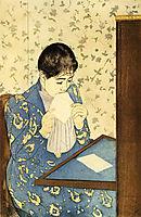 The Letter, 1891, cassatt
