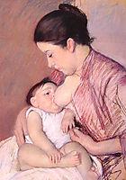 Maternite, 1890, cassatt