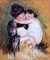 Mother and Child, c.1900, cassatt
