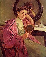 Woman at Her Toilette, 1909, cassatt