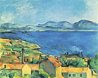 The Gulf of Marseille Seen from L-Estaque, c.1885, cezanne