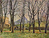Jas de Bouffan, 1885-1887, cezanne