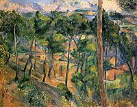 L-Estaque View Through The Pines, 1883, cezanne